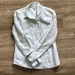 *2/$20* Forever 21 Striped Button Down Long Sleeve